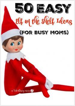 Elfen clipart elf on shelf