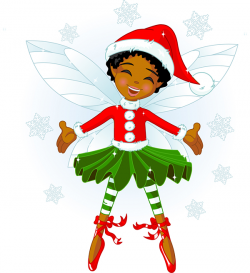 Elfen clipart flying