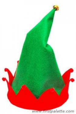Pointed Ears clipart elf hat