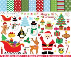 Elfen clipart merry christmas