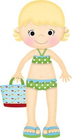 Elfen clipart on beach