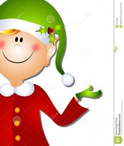 Elfen clipart smile