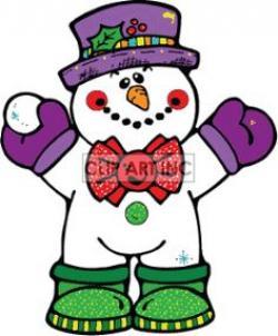 Elfen clipart snowball