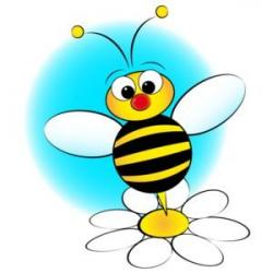 Gallery clipart bee flower