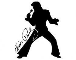 Elvis Presley clipart Elvis Silhouette Profile