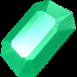 Crystals clipart emerald