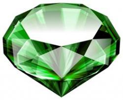Emerald clipart diamond
