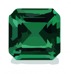 Emerald clipart large