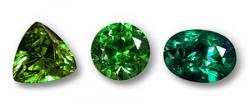 Emerald clipart small colored gem stone shape