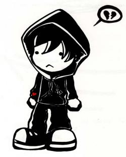 Emo clipart child
