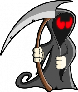 Traditional Costume clipart grim reaper