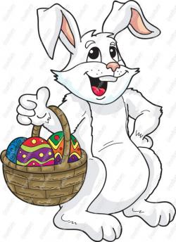 Moving clipart easter bunny