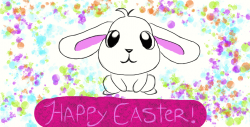 Emo clipart happy easter