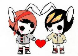 Emo clipart love animated