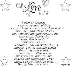 Poem clipart i love