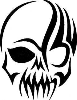 Punk clipart tengkorak