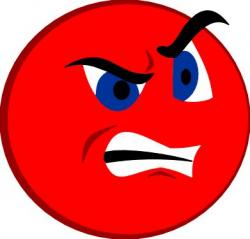 Emotional clipart anger