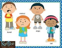Emotions clipart child emotion
