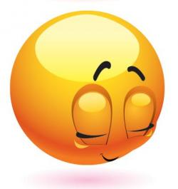 Emotional clipart embarrassed face
