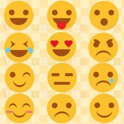 Small clipart emoji
