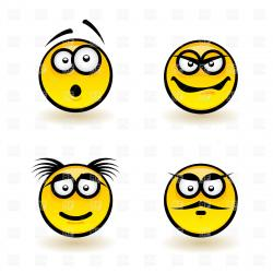 Emotions clipart background