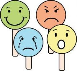 Emotions clipart emotional development