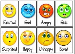 Emotions clipart feelings chart