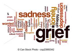 Despair clipart grief