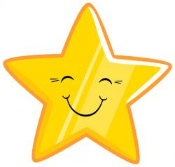 Emotional clipart happy star