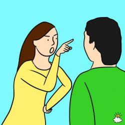 Emotional clipart irritability