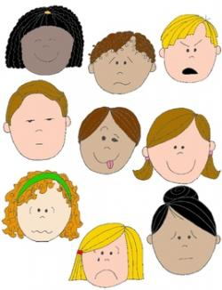 Feelings clipart kid emotion