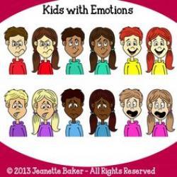 Emotional clipart kid emotion