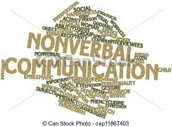 Illustration clipart verbal communication