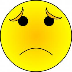 Emotions clipart sad emoticon
