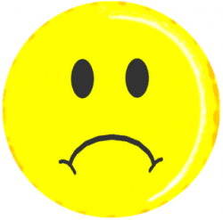 Smileys clipart sad face