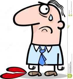 Loss clipart unhappy person