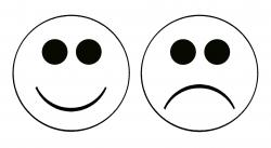 Emotions clipart happy sad