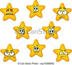 Emotional clipart star
