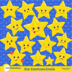 Emotions clipart star