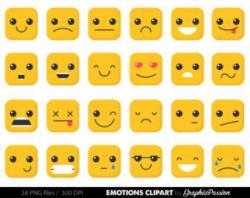 Emotional clipart emoji