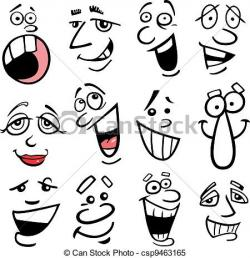 Emotions clipart animated faces