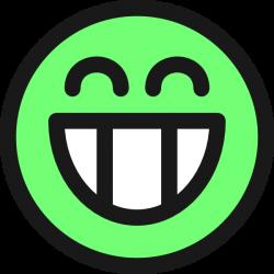 Grin clipart emoticon