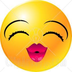 Lips clipart kissy face