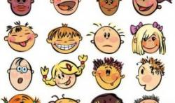Emotions clipart children's