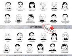 Emotions clipart curious