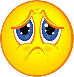 Emotions clipart disappointed face