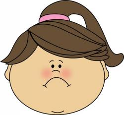 Emotions clipart frown