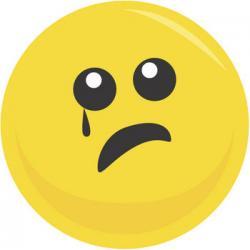 Sadness clipart sad face