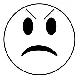 Anger clipart grumpy face