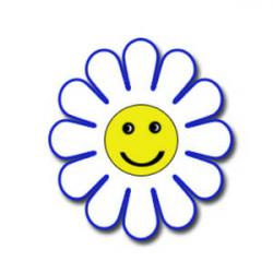 Smiley clipart daisy